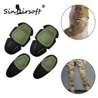 Tactical Combat Elbow Knee Pads Insert G3 CS Training SWAT Protective Gear
