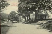 Tolland CT Rockville Road Tolland Street c1910 Postcard
