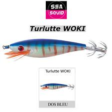 Turlutte Sea Squid Woki 9cm Modèle Bleu