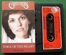 Carpenters Voice of the Heart Cassette Tape - TESTED