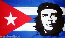 CHE GUEVARA CUBA FLAG 5 X 3 COMMUNIST REVOLUTIONARY REVOLUTION CUBAN POLITICAL