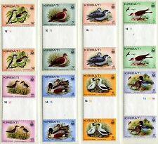 Kiribati 384-9 MNH gutter Birds Pomarine jaggers Mallards Collared petrel x11010
