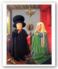 FIGURATIVE ART PRINT The Arnolfini Fernando Botero