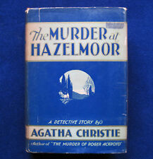 AGATHA CHRISTIE The Murder at Hazelmoore 1st US Edition