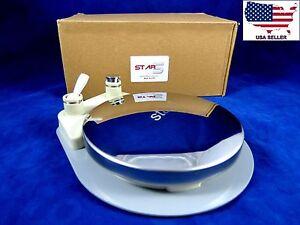 Dental M4 Round Foot Control Pedal Standard Unit Pneumatic 4 Hole STAR5