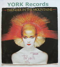 "TOYAH - Thunder In The Mountains - Ex Con 7"" Single"