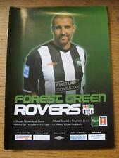13/12/2008 Forest Green Rovers v Hemel Hempstead Town [FA Trophy] . Item In very
