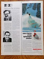 1969 Johnson Snowmobile Ad  Skee-Horse Lightweight