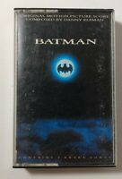 Batman Original Motion Picture Score Composed By Danny Elfman Cassette Tape