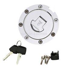 Fuel Gas Tank Cap Cover Lock Key Set Fit Honda CBR900RR CBR929 CBR954 2000-2003