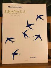 Jr Jacob van Eyck Fluyten Lust-Hof coll. musique en main éditions Heugel