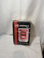 STI STI-1230 Stopper II Fire Alarm Pull Station Cover w/o Horn, Clear Spacer NEW
