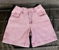 Vintage Palmettos Acid Wash Women's High Waist Denim Jean Shorts Size 9. EUC