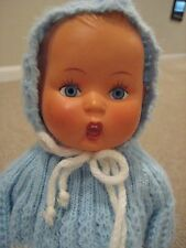 Hummel V104 Vinyl Vintage-Baby Blue Vinyl Boy Doll