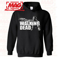 THE WALKING DEAD HOODIE Zombie AMC Hooded Sweatshirt Show Hunter Daryl Dixon TWD