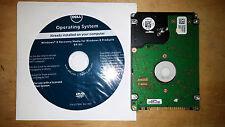 New Dell Windows 8 64 Bit DVD Reinstallation Disk With N/W Hard Drive Bundle