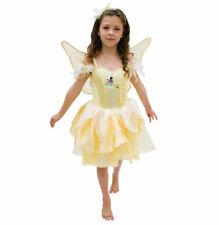 Iridessa Crystal Costume Disney Tinker Bell Fairies Light up Dress S:4-6 Girl