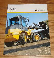 Original 2010 John Deere Tractor 244J 44 kW 59 HP Sales Brochure 10