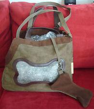 Nwot Dog bag, brown, by Picnic at Ascot, Chelsea bag