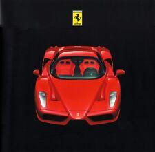 Enzo ORIGINALE CARTELLA STAMPA FERRARI ENZO-Paris 2002 pressione 1854/02 + CD foto