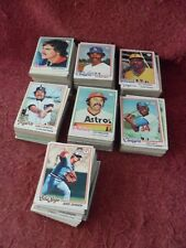 "One LOT Of Over SIX-HUNDRED SIXTY (660) ""Original"" 1978 TOPPS ""Baseball"" CARDS"