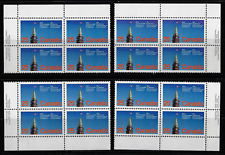 Canada — Set of 4 Blocks — Commonwealth Parliamentary Confederation #740* Mnh