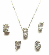 White Gold Round Fine Diamond Necklaces & Pendants