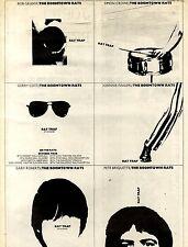 7/10/1978Pg17 Single & Tour Advert 15x10 The Boomtown Rats, Rat Trap