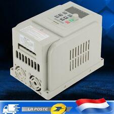 1.5KW AC 220V Contrôleur de vitesse VFD variateur fréquence pour moteur triphasé