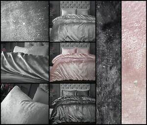 SPARKLE VELVET FANCY Duvet Cover Quilt Cover Thermal Warm Soft Bedding All Sizes