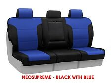 Coverking Neosupreme Rear Custom Fit Seat Covers for GMC Sierra