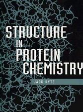 Structure in Protein Chemistry Vol. 1 by Jack Kyte (1995, Hardcover)