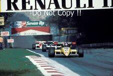 Patrick Tambay Renault RE50 Italian Grand Prix 1984 Photograph 2