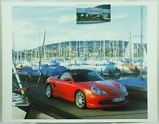 Porsche Red Boxster S Car Photo Print Sportscar Poster
