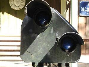 Original GEC Railway Train Track Signal with blue lens TYPE LX