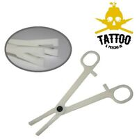 BODY PIERCING Disposable Slotted PENNINGTON FORCEPS - Sterile Needle Guide