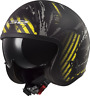 LS2 OF599 Spitfire Viso Aperto Low Profile Casco da Moto Parasole Garage