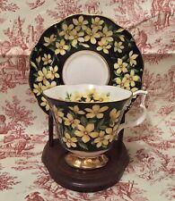 Royal Albert Flora Series Jasmine Bone China Tea Cup & Saucer