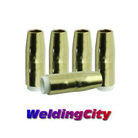 0.035 WeldingCity 10-pk MIG Welding Contact Tip 7489 for Elliptical Consumables in Bernard Q and S MIG Guns