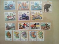 lot N°10 - 16 timbres GUINEE BISSAU