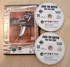 PC - Abenteuer Horror Rätsel Adventure - Jack the Ripper - New York 1901