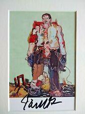 GEORG BASELITZ - The Shepherd (1966) - FRAMED SIGNED RARE