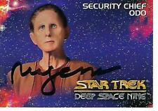 RENE AUBERJONOIS SIGNED 1993 STAR TREK DEEP SPACE NINE #7 - ODO