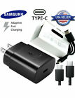 For Samsung Galaxy A71/A51 Original 25W Super Fast Charger with USB C Cable 3FT