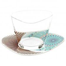 RITZENHOFF Dessertglas mit Untertasse Kurz Kurz Design - Höhe ca.6,5cm - 2960004