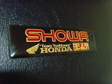SHOWA Exhaust Sticker Decal CBR CR CRF Parts 125 250 400 600 1000