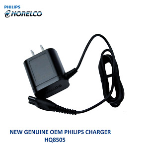 New Genuine Philips HQ8505 15V Power Charger Cord for Norelco Shavers