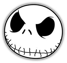 "Nightmare Before Christmas Jack Skellington Cartoon Bumper Sticker Decal 5''x5"""