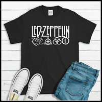 LED ZEPPELIN ROCK BURGUNDY T SHIRT MEN/'S SIZES