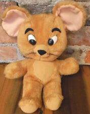 JERRY MOUSE Vintage Knickerbocker 1976 Tom And Jerry Plush Stuffed Animal 70s